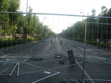 Aftermath of the parade (2008).
