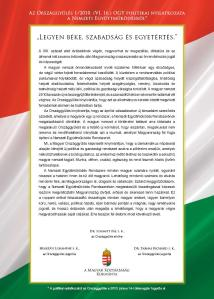 The Declaration of National Cooperation.