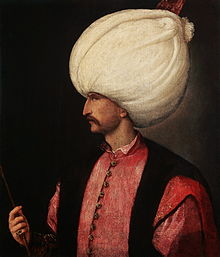 Ottoman Sultan Suleiman the Magnificent.