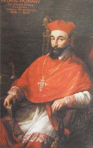 Archbishop of Esztergom Péter Pázmány.