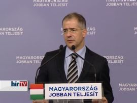Fidesz National Assembly representative Lajos Kósa: the Curia made a cowardly decision.