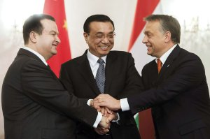 Concluding a deal for Chinese financing of the Belgrade-Budapest railway renovation project.