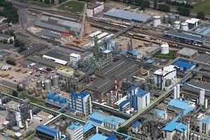 The BorsodChem chemical factory.
