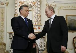 Prime Minister Orbán and President Putin meet in Moscow during the signing of the Paks Nuclear Power Plant agreement.