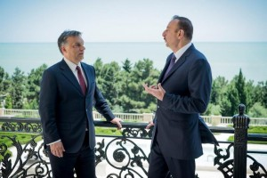 Prime Minister Viktor Orbán meets with President Ilham Aliyev in Baku.