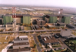 The Paks Nuclear Power Plant.