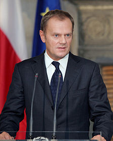 Prime Minister Donald Tusk of Poland.