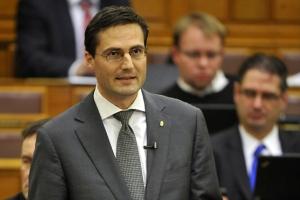 National Assembly representative Márton Gyöngyösi.