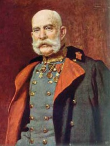 Emperor of Austria and King of Hungary Franz Joseph I.
