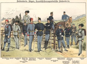 Austro-Hungarian Common Army troops.
