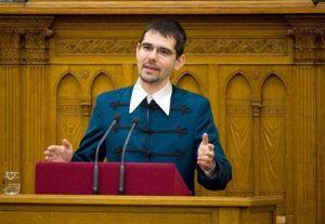 Jobbik National Assembly representative Előd Novák.