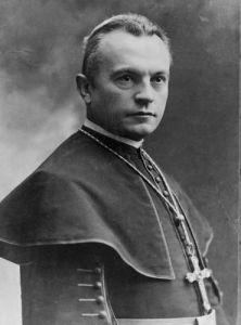 KDNP ideological forefather Bishop of Székesfehérvár Ottokár Prohászka.