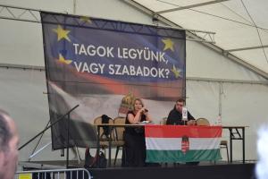 Jobbik European Parliament representative Krisztina Morvai.