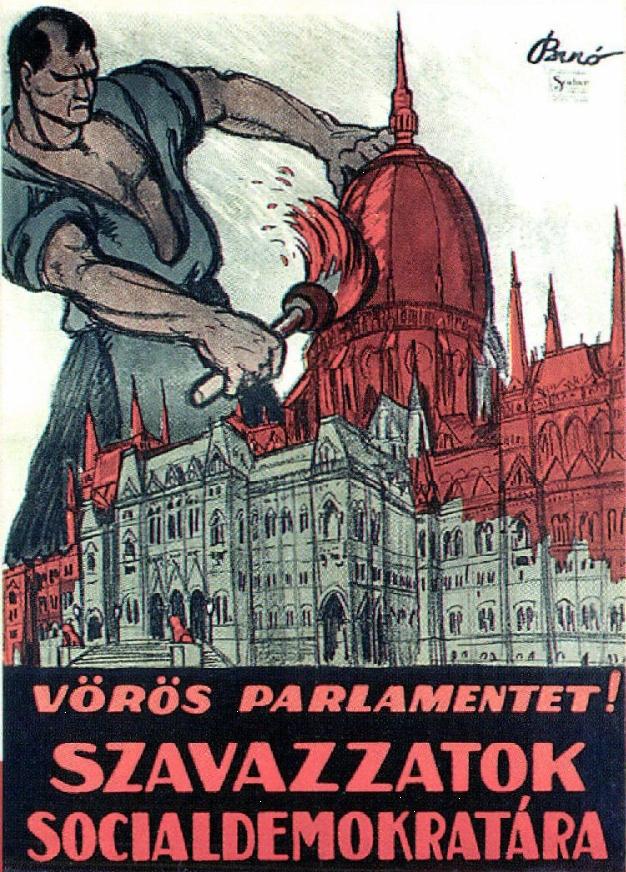 Afbeeldingsresultaat voor hungarian soviet republic