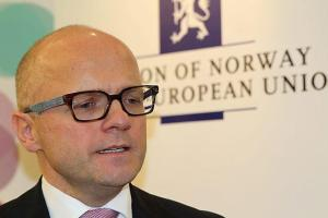 Minister in charge of EEA Affairs and EU Relations at the Office of the Prime Minister of Norway Vidar Helgesen.