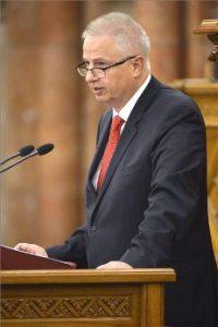 Justice Minister László Trócsányi.