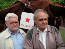 Banned red star on display at May Day celebration (5/1/2008).