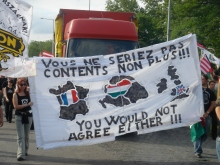 64 Counties Youth Movement march protesting the 1920 Treaty of Trianon (9/3/2007).