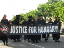 64 Counties Youth Movement march protesting the 1920 Treaty of Trianon (6/13/2009).
