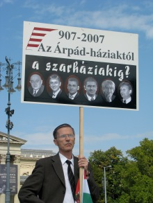 """907-2007. From the House of Árpád to the House of Shit?"" (9/14/2007)."