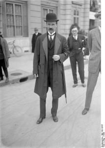 Prime Minister István Bethlen.