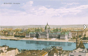 The Hungarian Parliament Building during Horthy era.
