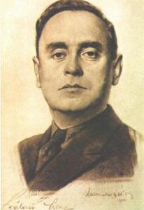 Arrow Cross leader Ferenc Szálasi.
