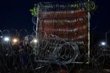 The curtain falls: closing the last gap in the border.