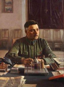 Allied Control Commission Chairman Kliment Voroshilov.