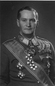 Provisional National Government Prime Minister Béla Dálnoki Miklós.