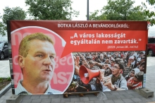 "Hungarian Socialist Party Szeged Mayor László Botka: ""They didn't distrub the inhabitants of the city whatsoever."""