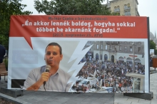 """Democratic Coalition Vice President Csaba Molnár: """"I would be happy if we wanted to accept many more."""""""