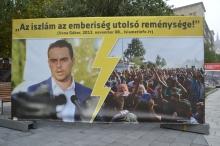 "Jobbik President Gábor Vona: ""Islam is the last hope of humanity."""