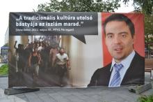 "Jobbik President Gábor Vona: ""Islam will remain the last bastion of traditional culture."""