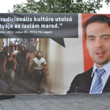 "Jobbik President Gábor Vona: ""Islam will remain the last bastion of traditional culture."""
