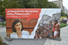 "Hungarian Socialist Party National Assembly representative Ágnes Kunhalmi: ""Immigration is a phoney problem that Fidesz created."""