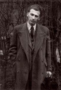 Poet Miklós Radnóti.