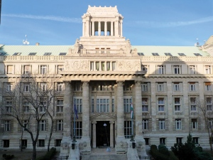 The Curia building in Budapest.