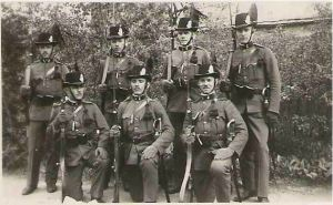 Members of Hungarian Royal Gendarmerie.