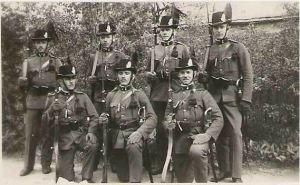 Members of Hungarian Royal Gendarmerie.
