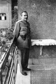 ÁVH director Gábor Péter.