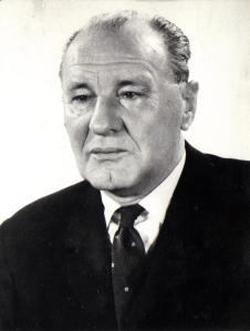 Hungarian Socialist Workers' Party General Secretary János Kádár.