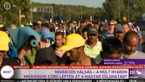(3) MIGRATION CRISIS—LAST SUMMER THOUSANDS OF MIGRANTS ENTERED HUNGARY ILLEGALLY.