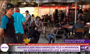 (6) MIGRANTS WILL DEPART IN DIRECTION OF HUNGARY IF [OUTCOME OF] REFERENDUM IS FAVORABLE FOR THEM.