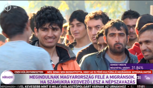(9) MIGRANTS WILL DEPART IN DIRECTION OF HUNGARY IF [OUTCOME OF] REFERENDUM IS FAVORABLE FOR THEM.