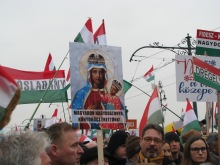 """Our Lady of Hungary Pray for Us!"""