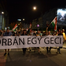 """Orbán Is a Fuckhead"""